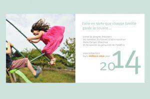 udaf - carte de vœux numérique 2014