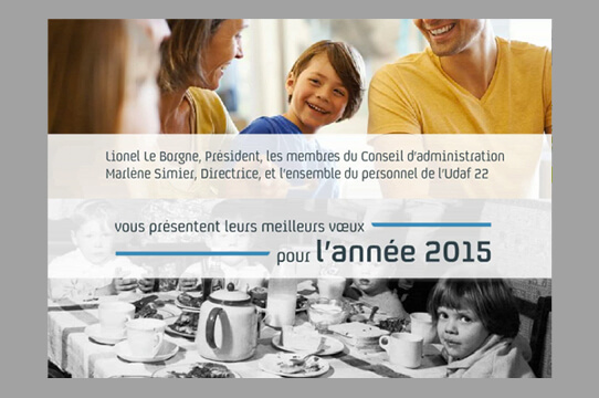 udaf - carte de vœux numérique 2015